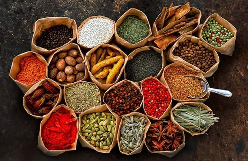 Le Spezie, sapore e profumo in tavola