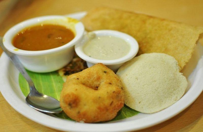 La colazione tipica dell'India