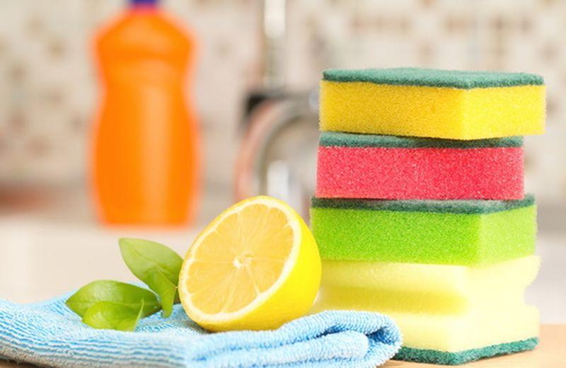 Come conservare le spugne per pulire casa