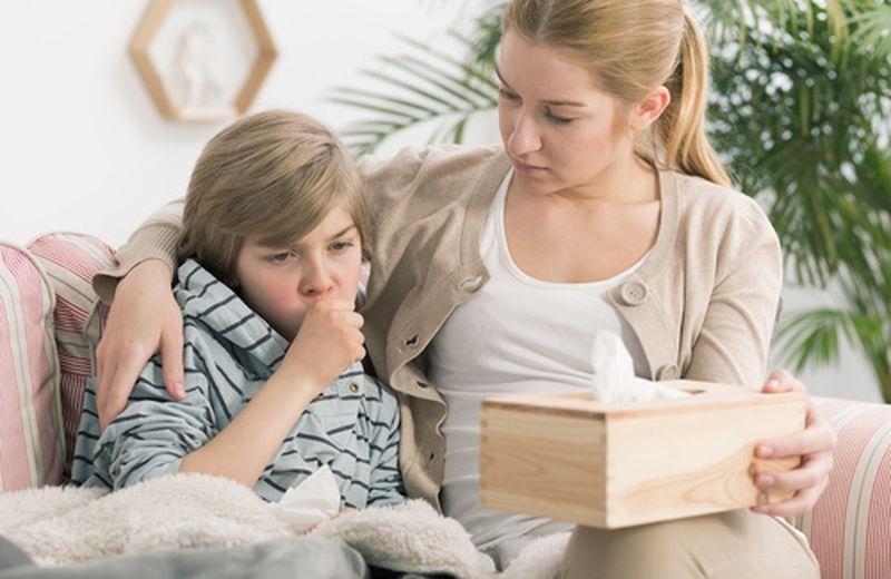 Bronchite nei bambini: cause e come curarla