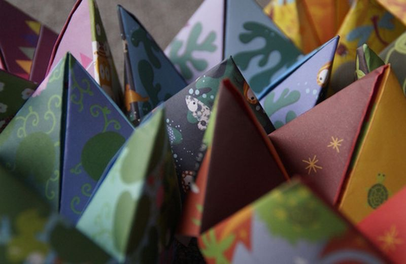 I pacchetti di Natale: falli ad origami!