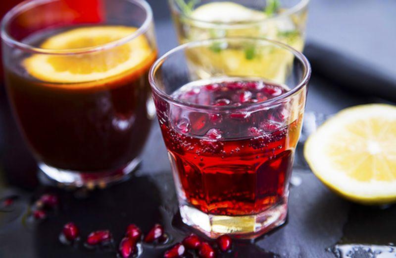 Liquore di melograno fatto in casa