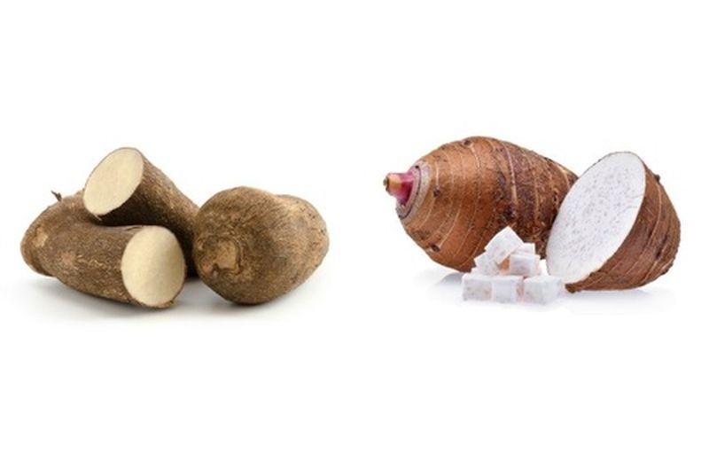 Yam e taro: proprietà e valori nutrizionali