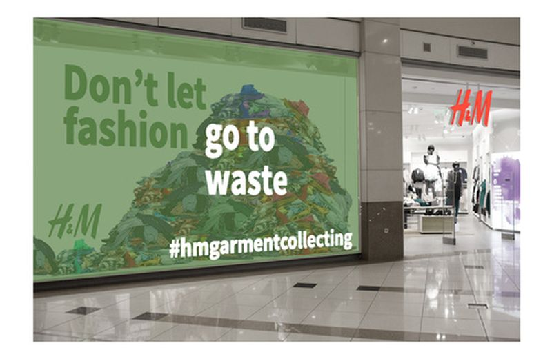 Continua la campagna H&M di raccolta di vecchi vestiti