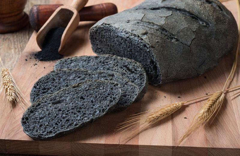 Il carbone vegetale nei prodotti da forno