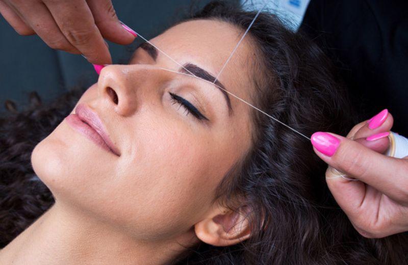 Come funziona la depilazione con il filo orientale