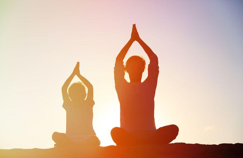 Quando a insegnare yoga è un bambino