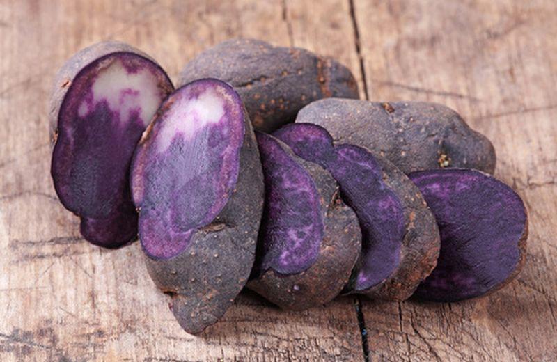 Patate viola, blu, rosse: origini e proprietà