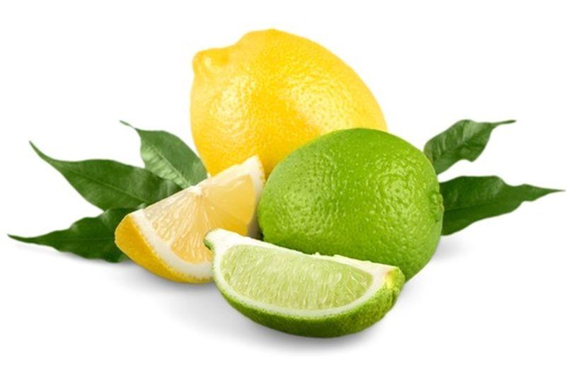 Lime e limone, due agrumi a confronto