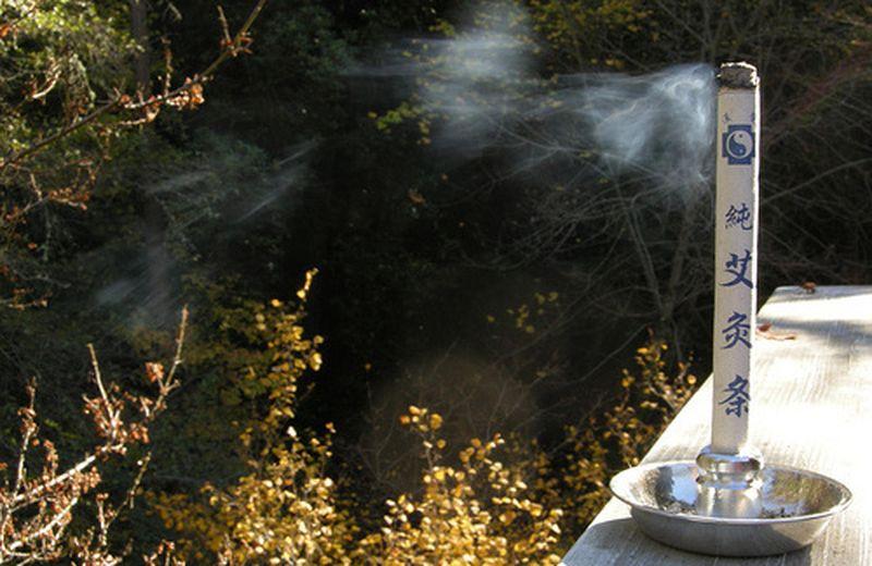 Moxibustione: moxa e artemisia