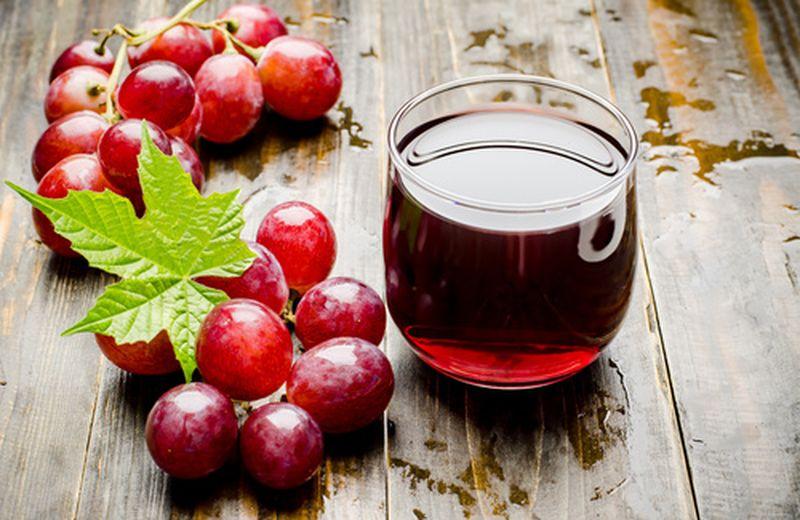 Succo d'uva, proprietà e benefici