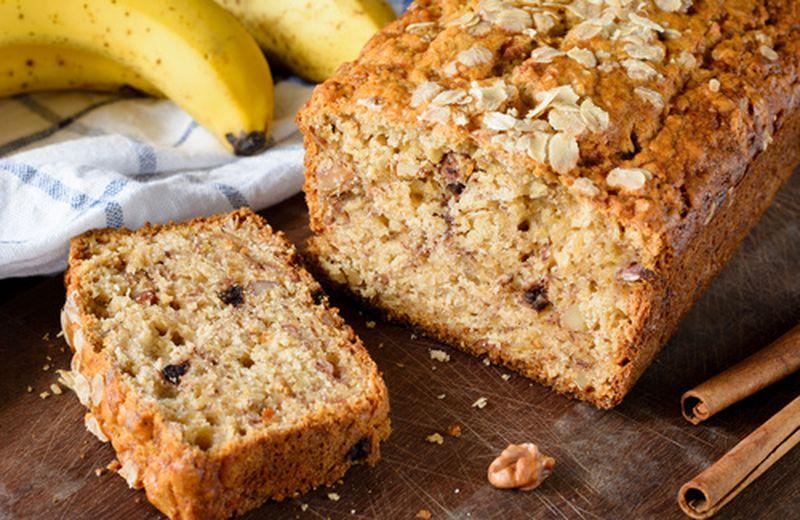 Banana bread, un esempio di comfort food