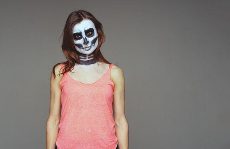 Trucco di Halloween ma naturale