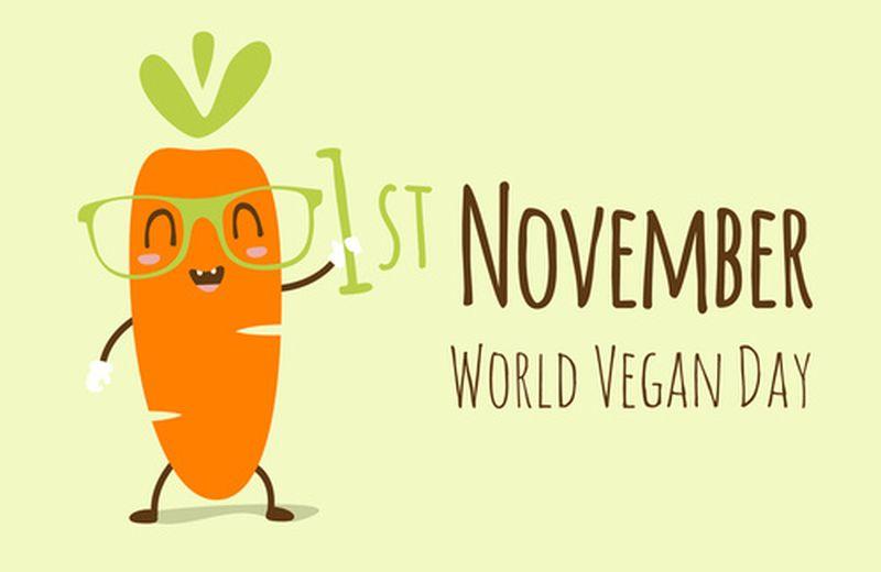 1 Novembre, Giornata mondiale vegan