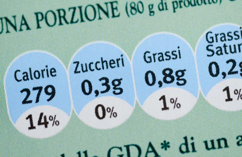Valori nutrizionali, di cosa si tratta