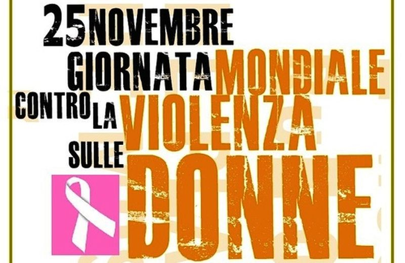 25 novembre, Giornata internazionale per l'eliminazione della violenza sulle donne