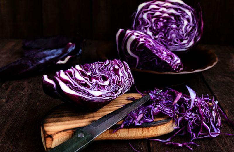 3 ricette con il cavolo viola