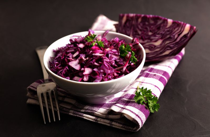 Tre ricette con il cavolo verza rosso
