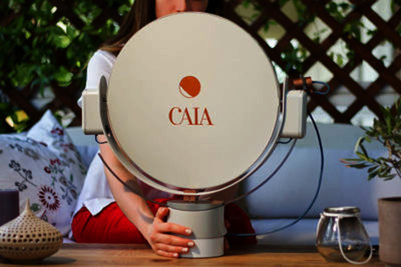 Caia, il robot che produce luce naturale