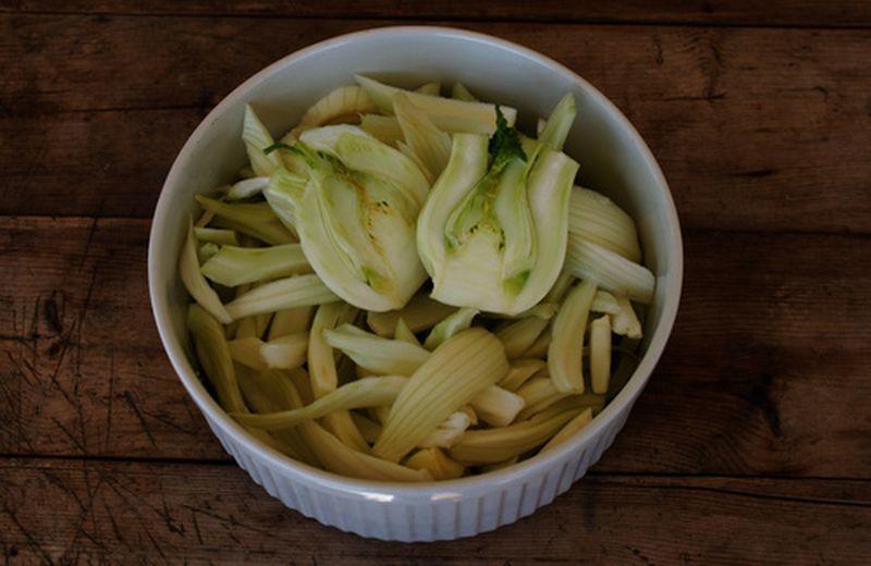 Tre insalate con i finocchi