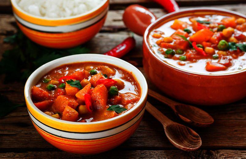 Curry indiano di verdure, ricetta