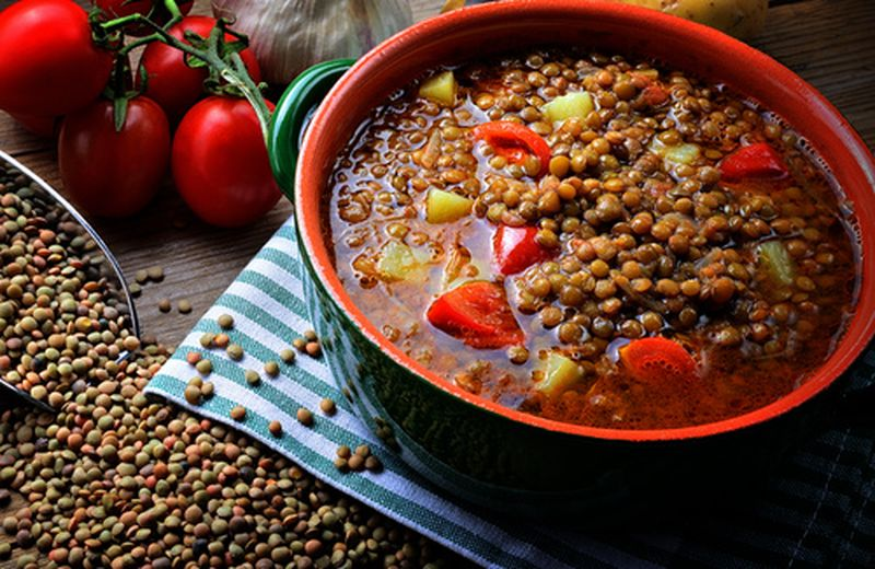 Zuppa di lenticchie, in tre varianti