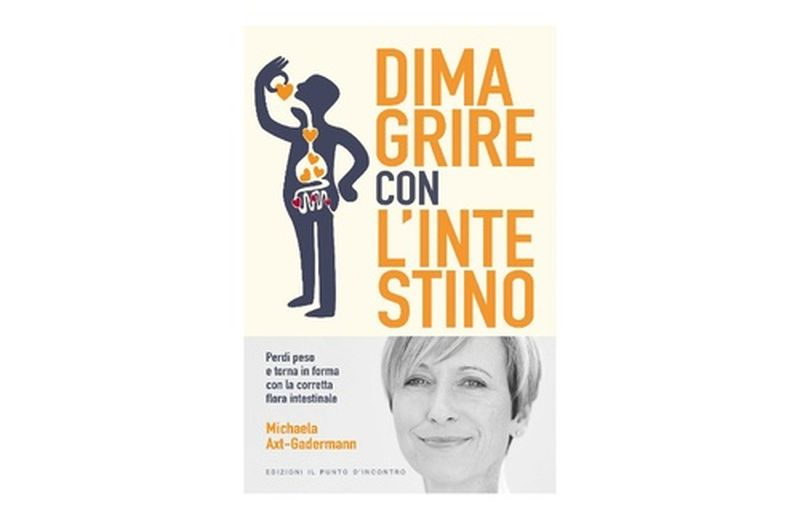"""Dimagrire con l'intestino"" di Michaela Axt-Gadermann"