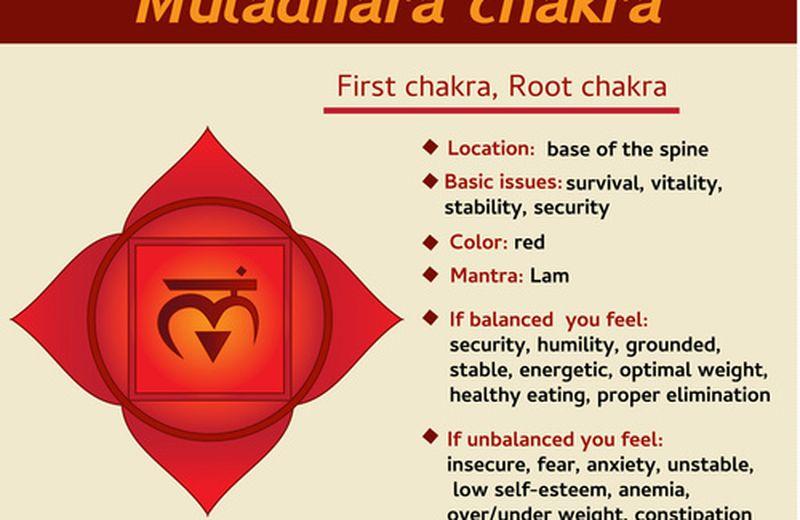 L'apertura del primo chakra