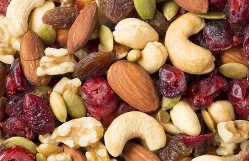 Calendario della frutta secca