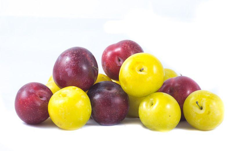 Prugne rosse e gialle, proprietà