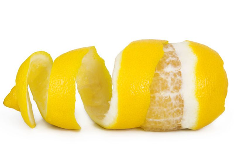 Bucce di limone, come utilizzarle
