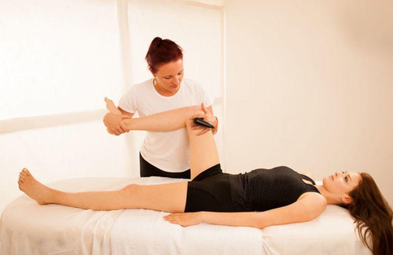 Tecarterapia per le ginocchia