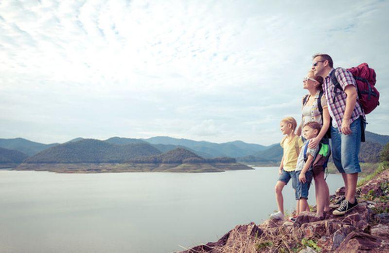 Organizzare le vacanze con i bambini
