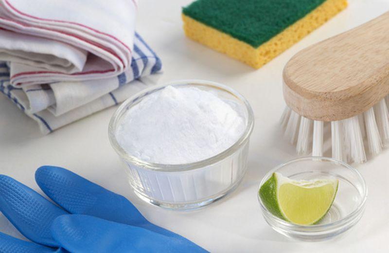 Bicarbonato di sodio per l'igiene della casa