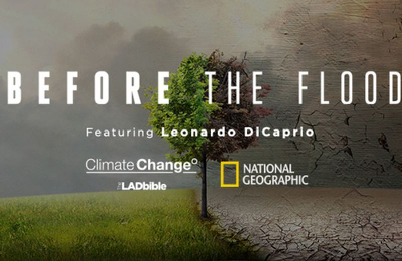 Before the flood, il documentario di Leonardo DiCaprio