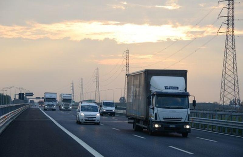 Autostrada elettrica tra Brescia e Milano