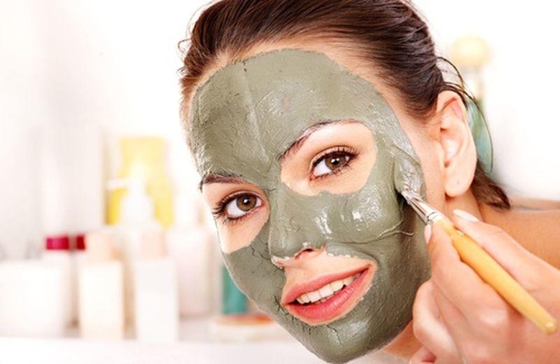 Argilla verde ventilata, maschera