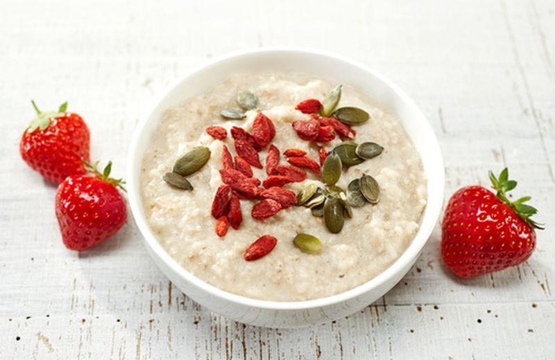 Porridge proteico a colazione