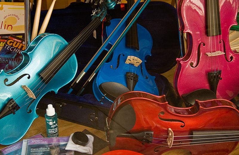 Bambini disabili e la musica a scuola