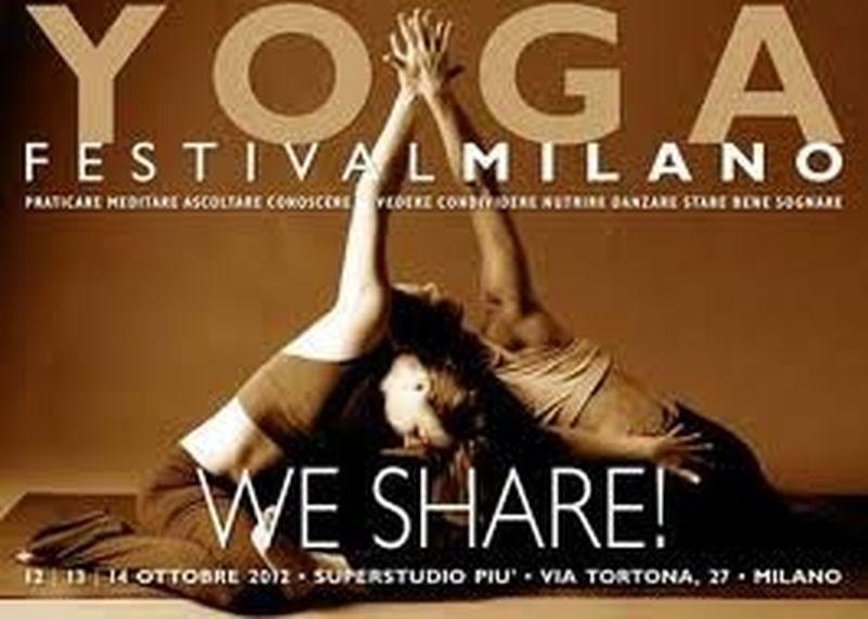 Milano Yoga Festival 2012, prende posizione la condivisione